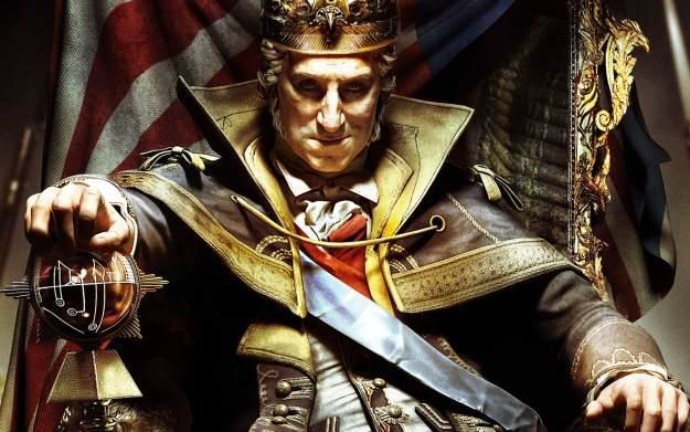 Assassin's Creed III: The Tyranny of King Washington - motyw graficzny /Informacja prasowa