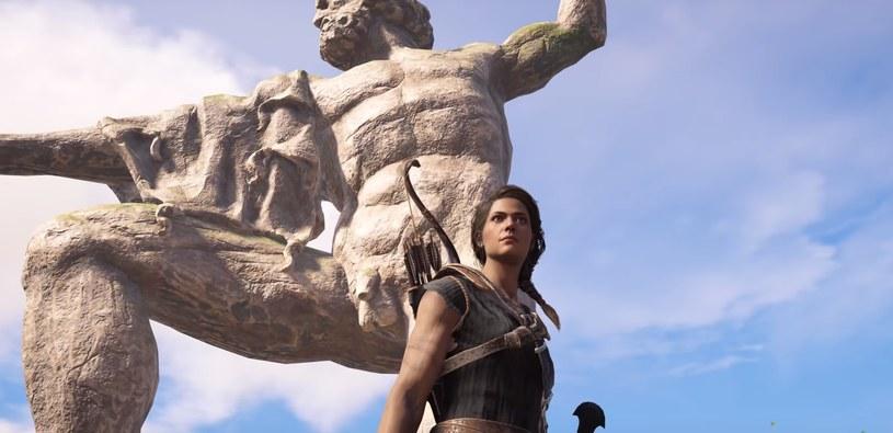 Assassin's Creed: Odyssey - fragment filmu zamieszczonego w serwisie YouTube.com/na kanale:  Zanar Aesthetics /materiały prasowe