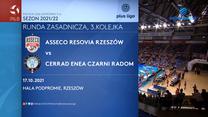 Asseco Resovia Rzeszów - Cerrad Enea Czarni Radom. SKRÓT. WIDEO (Polsat Sport)