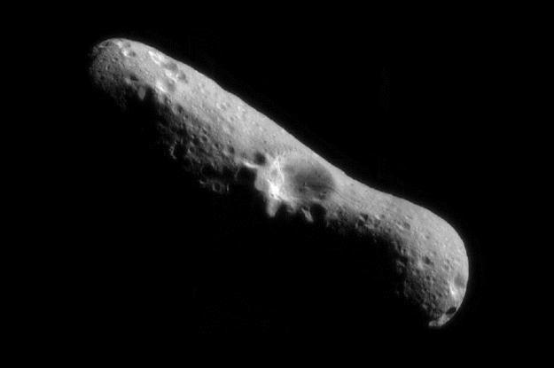 Asteroidy są potencjalnym źródłem surowców.    Fot. NASA /Internet