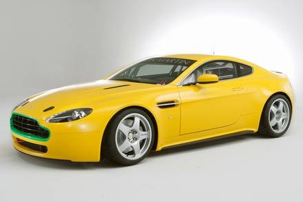 Aston martin V8 vantage N24 / Kliknij /INTERIA.PL