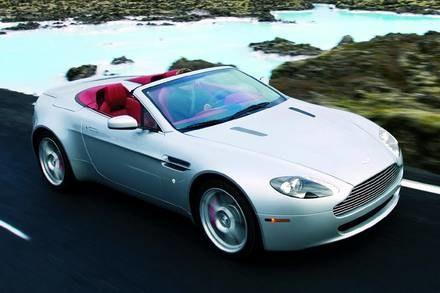 Aston martin v8 vantage roadster / Kliknij /INTERIA.PL