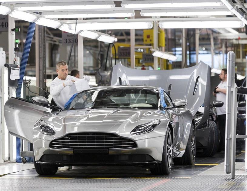 Aston Martin zanotował bardzo dobry rok /