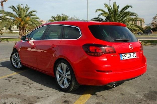 Astra kombi to ładne auto /INTERIA.PL
