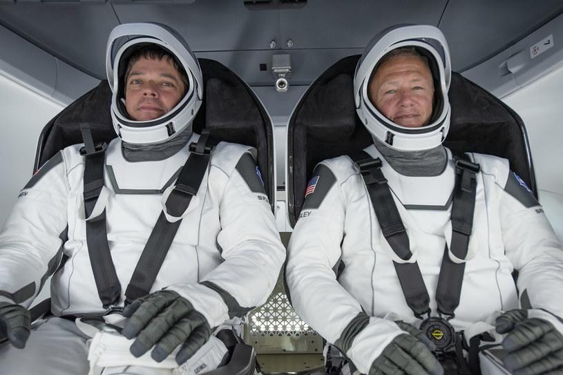 Astronauci Bob Behnken i Doug Hurley /SpaceX /PAP/EPA
