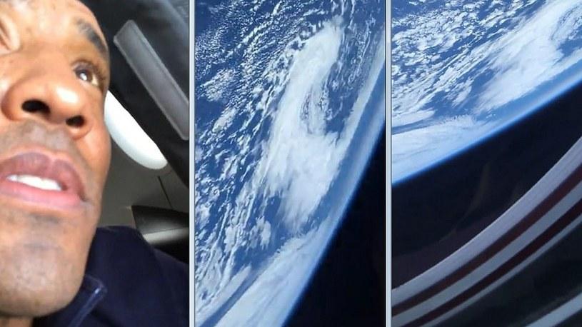 Astronauta z historycznej misji kapsuły Dragon-2 pokazał Ziemię z kosmosu [FILM] /Geekweek