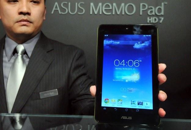 Asus MeMO Pad HD 7 został zaprezentowany podczas targów Computex 2013 /AFP