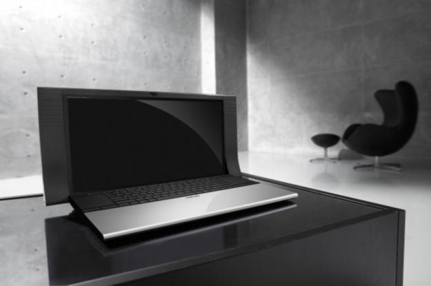 Asus NX90 - jeden z najbardziej ekskluzywnych notebooków Asusa w 2010 roku /materiały prasowe