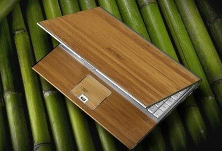 Asus U6V - bambus i notebook /materiały prasowe