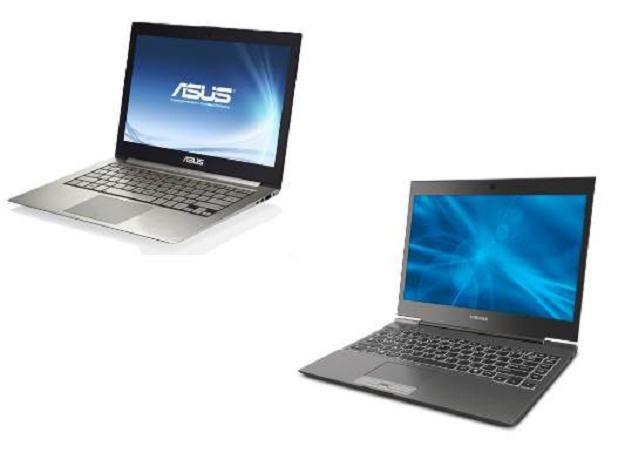 Asus UX31 kontra Toshiba Portege Z830 /materiały prasowe