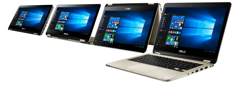 Asus VivoBook Flip TP301 /materiały prasowe