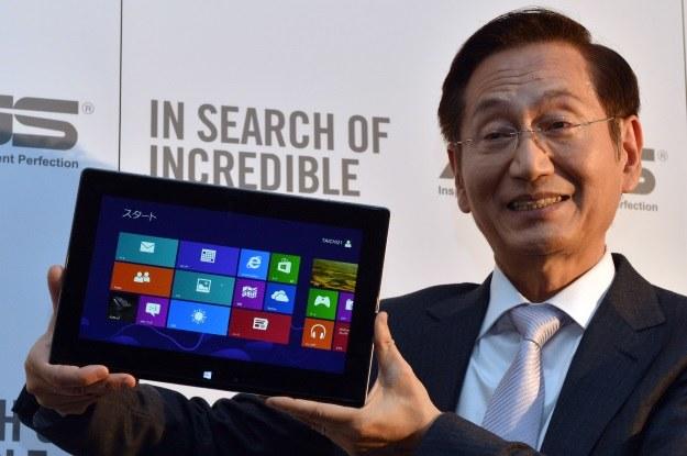 Asus zainwestuje w małe i tanie tablety z Windowsem 8 /AFP