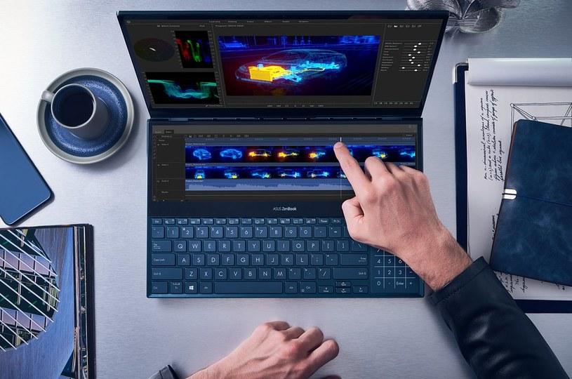 Asus ZenBook Pro Duo /materiały prasowe