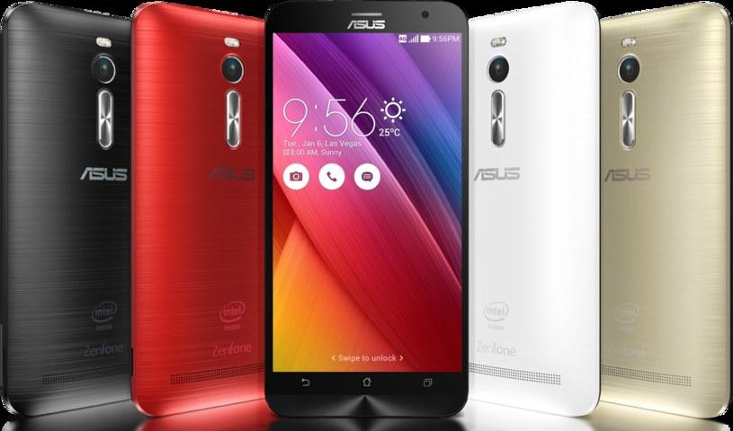 ASUS ZenFone 2 - cała rodzina smartfonów /materiały prasowe