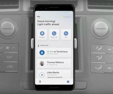Asystent Google pojawia się w wersji dla kierowców