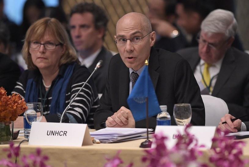 Asystent Wysokiego Komisarza ds. ochrony i praw człowieka Volker Turk /Christophe ARCHAMBAULT  /AFP