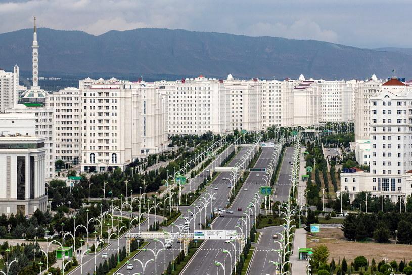 Aszchabad, stolica Turkmenistanu /Stanislav Krasilnikov/TASS /Getty Images
