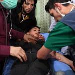 Atak chemiczny w Aleppo: Ponad 100 poszkodowanych, w tym dzieci. Reżim oskarża rebeliantów