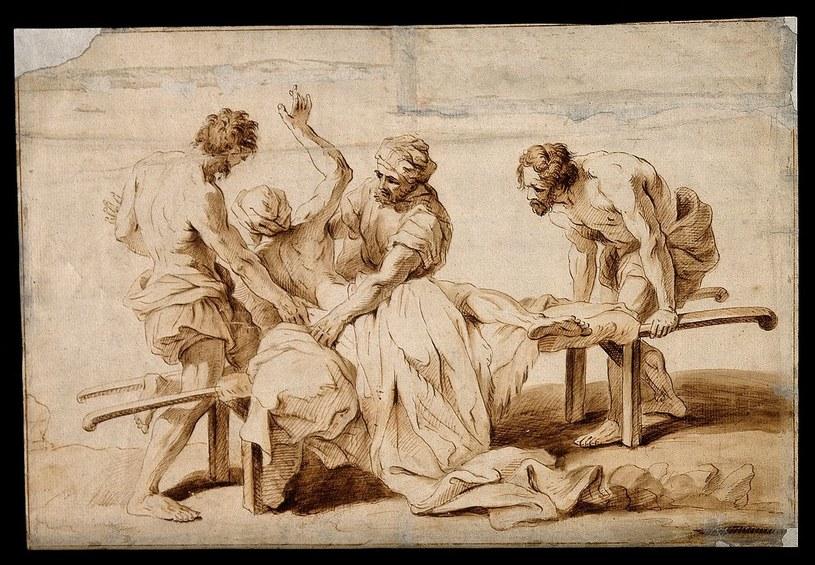 Atak epilepsji na ilustracji przypisywanej J.- B. Jouvenetowi /Wellcome Images/CC BY 4.0 /domena publiczna