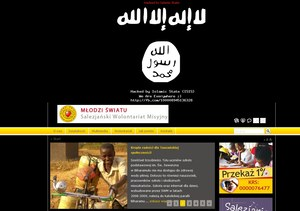 Atak hakerów Państwa Islamskiego na polską stronę internetową