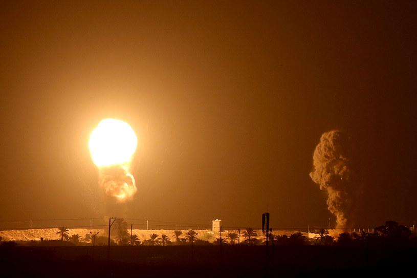 Atak izraelskich sił w Strefie Gazy, zdjęcie ilustracyjne /Ibraheem Abu Mustafa/Reuters /Agencja FORUM