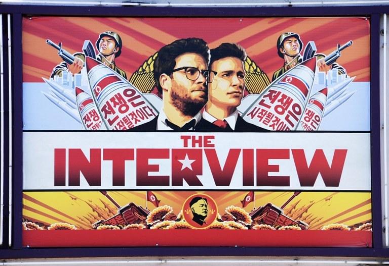 """Atak miał miejsce po zapowiedzi dot. filmu """"The Interview"""" /AFP"""