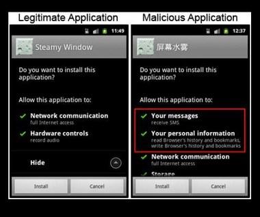 """Atak na Androida przez """"Zaparowane okno"""""""