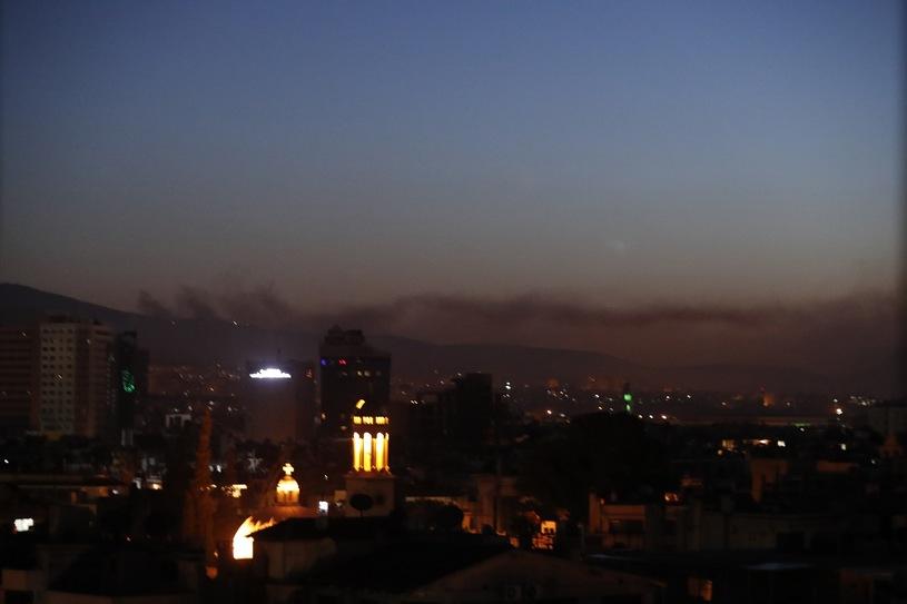 Atak na Damaszek /AP Photo/Hassan Ammar /East News