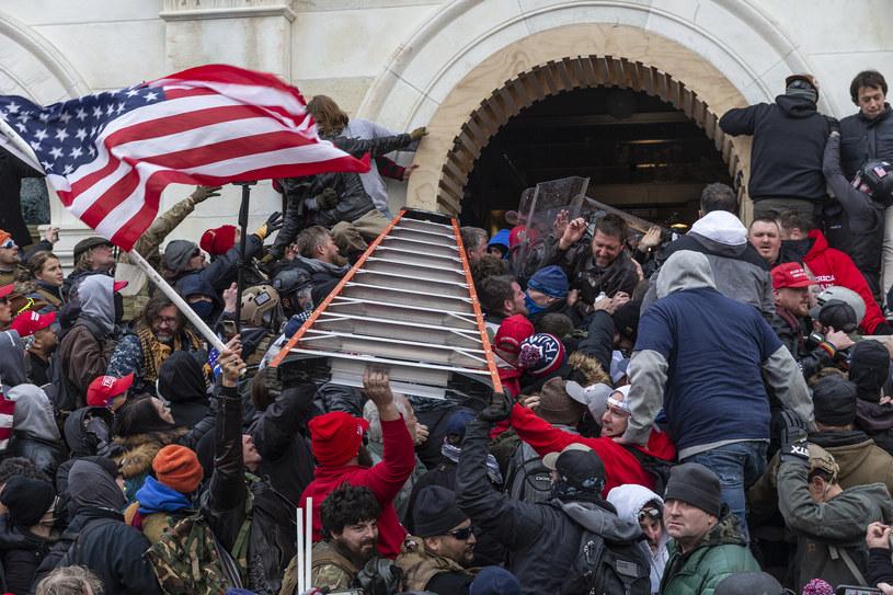 Atak na Kapitol /Lev Radin/Pacific Press/LightRocket /Getty Images