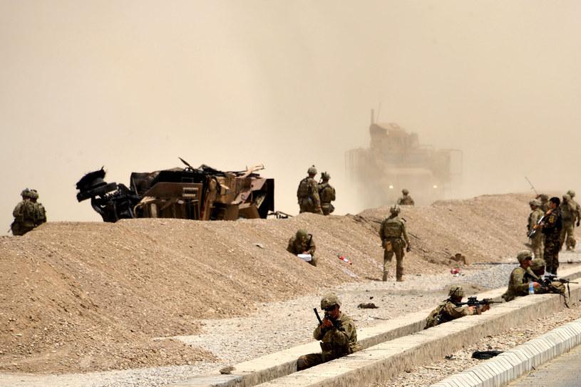 Atak na konwój w Afganistanie /Javed Tanveer /AFP