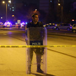 Atak na posterunek policji w Stambule