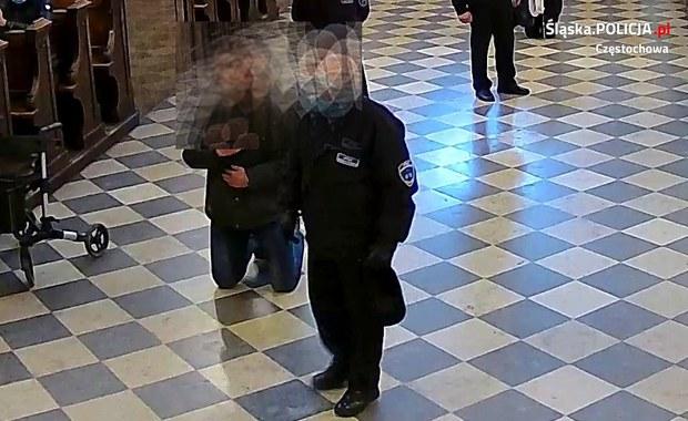 Atak na strażnika na Jasnej Górze. Policja szuka sprawcy