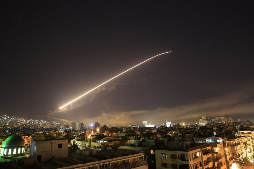 Atak na Syrię /Associated Press /East News