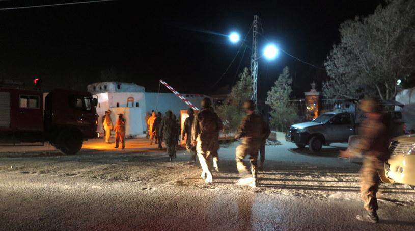 Atak na szkołę policyjną w Pakistanie /FAYYAZ AHMAD /PAP/EPA