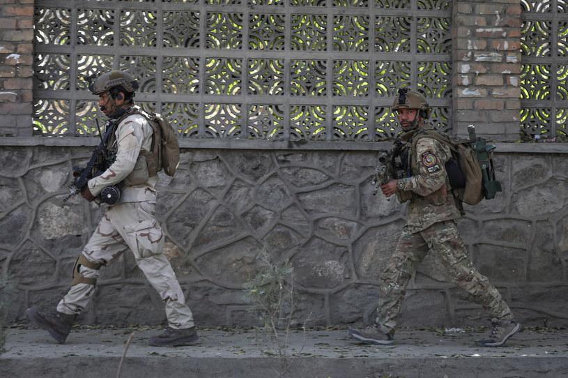 Atak na uniwersytet w Kabulu /HEDAYATULLAH AMID /PAP/EPA