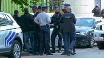 Atak nożownika na policjanta w Brukseli