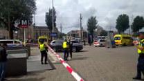 Atak nożownika w Amsterdamie