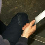 Atak nożownika w Andrychowie. Ranny motocyklista