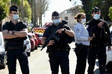 Atak nożownika we Francji. Zatrzymano trzy osoby z otoczenia napastnika