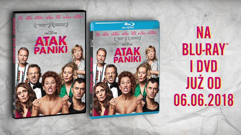 """""""Atak paniki"""" jest już dostępny na nośnikach DVD i Blu-Ray /materiały prasowe"""