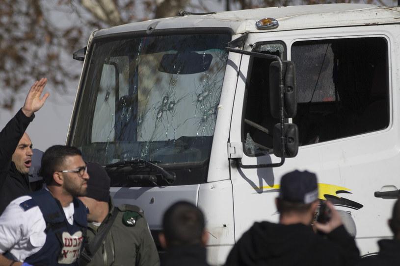 Atak terrorystyczny w Jerozolimie /Yonatan Sindel /Agencja FORUM