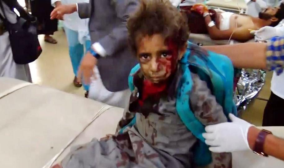 Atak w Jemenie /HOUTHI MOVEMENT HANDOUT /PAP/EPA