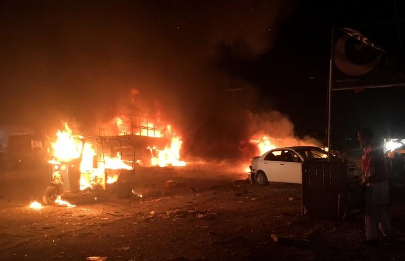 Atak w Kwecie /FAYYAZ AHMED /PAP/EPA