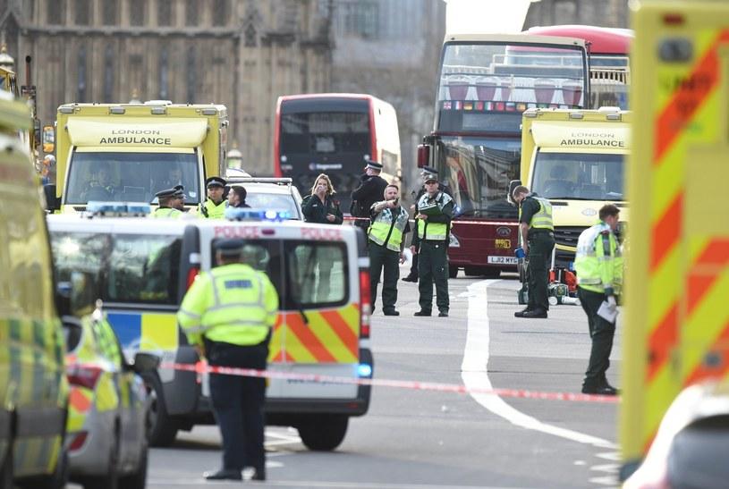 Atak w Londynie /FACUNDO ARRIZABALAGA /PAP/EPA