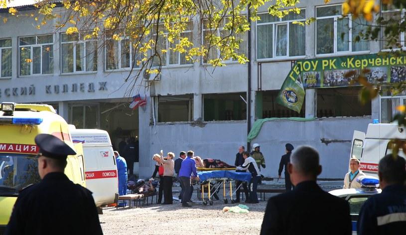 Atak w szkole na Krymie /AFP