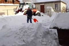 Atak zimy na Lubelszczyźnie. Potężne zaspy w okolicach Hrubieszowa