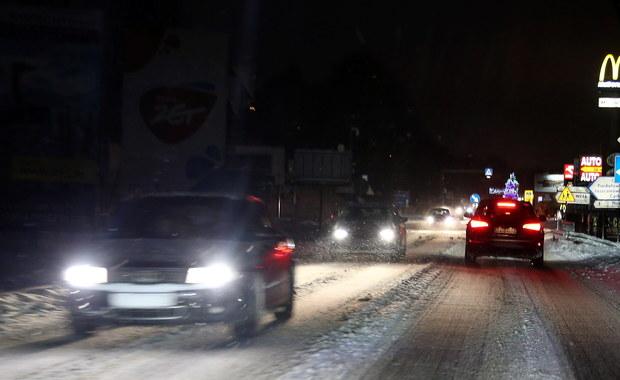 Atak zimy na południu Polski