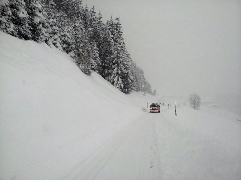 Atak zimy w Austrii /GEMEINDE KARTITSCH /PAP/EPA
