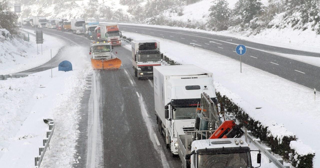Atak zimy w Europie