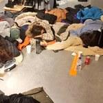 Atak zimy w Hiszpanii. Śnieżyca uwięziła w centrum handlowym ponad 100 osób